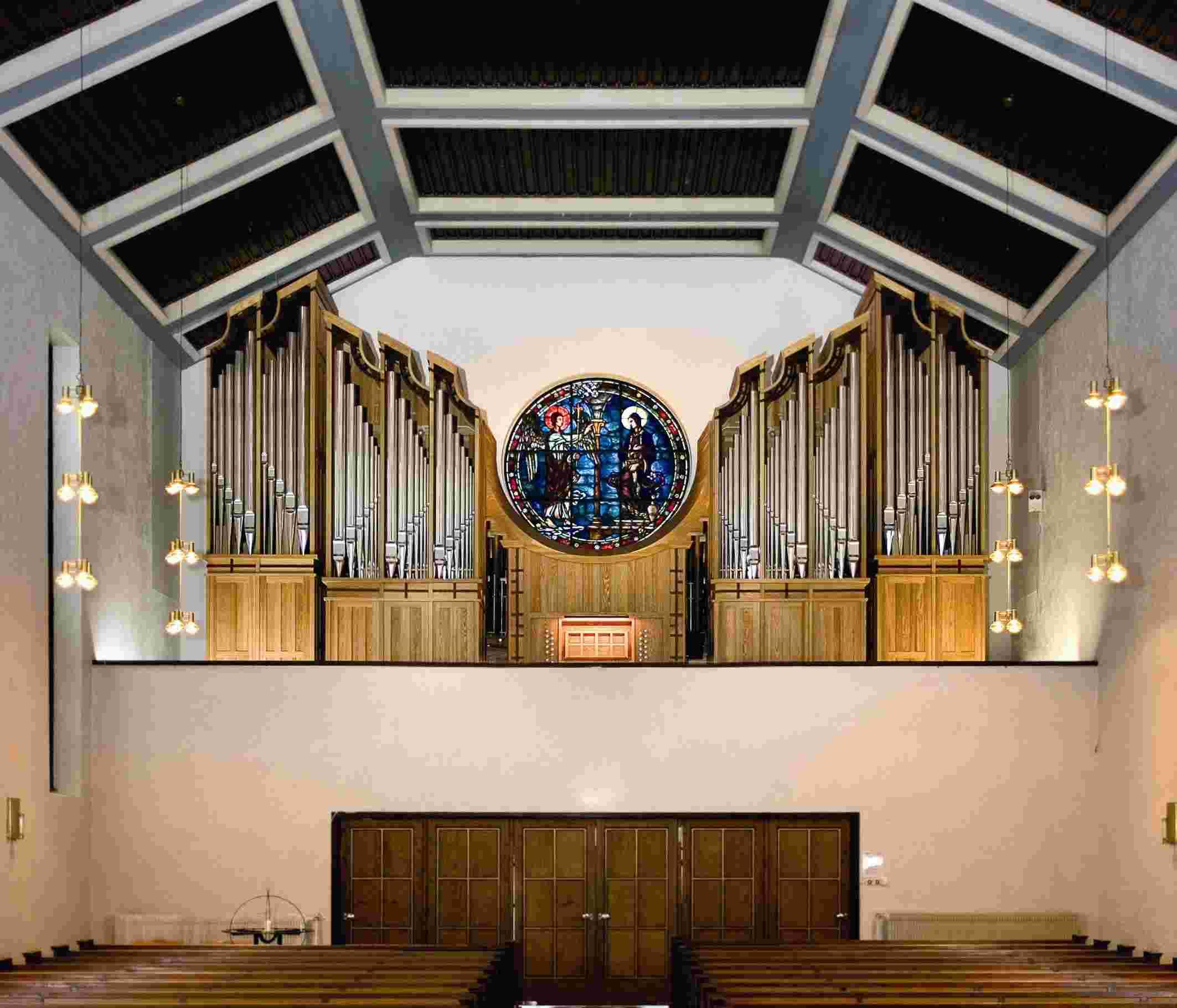 Røa kirkes orgel